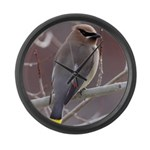 Wax Wing Large Wall Clock
