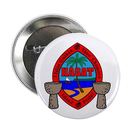 Guam Seal 2.25&amp;quot; Button (100 pack)