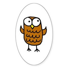 Maggie's Owl Decal