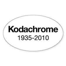 Kodachrome 1935-2010 Decal