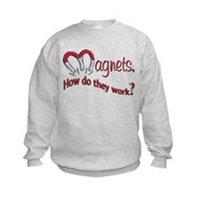 Magnets How Do They Work Sweatshirt