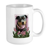 Mothers Day - Pink Tulips Coffee Mug