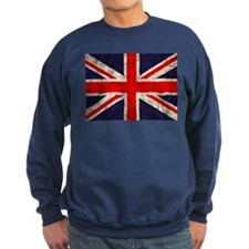 Grunge UK Flag Sweatshirt