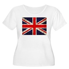 Grunge UK Flag T-Shirt