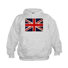 Grunge UK Flag Hoody