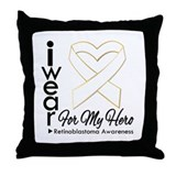 Ribbon Awareness Throw Pillow