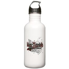 MacTavish Tartan Grunge Sports Water Bottle