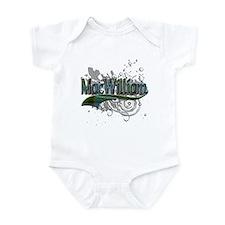 MacWilliam Tartan Grunge Infant Bodysuit