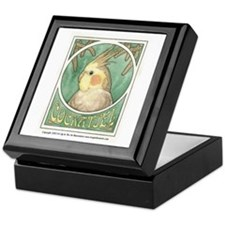 Cockatiel Keepsake Box