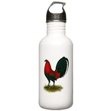 Big Red Rooster Water Bottle
