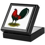 Big Red Rooster Keepsake Box