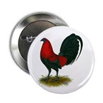 "Big Red Rooster 2.25"" Button (100 pack)"