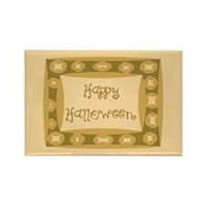 Happy Halloween Rectangle Magnet