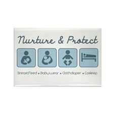 Nurture & Protect Rectangle Magnet (10 pack)