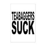 Teabaggers Suck Mini Poster Print