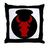 Red Bull Throw Pillow