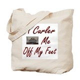 A Curler Swept Me Off My Feet Tote Bag