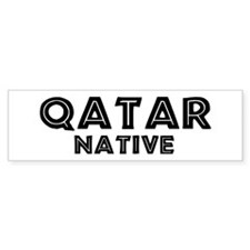Qatar Native Bumper Bumper Sticker