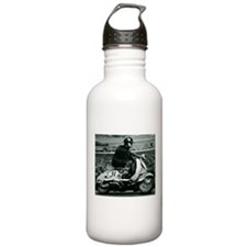 Scooter Race Water Bottle