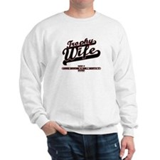 Trophy Wife Sports Sweatshirt