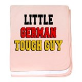 Little German Tough Guy baby blanket