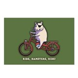 Ride, Hamsters, Ride! Postcards (Package of 8)