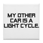 LIght Cycle Tile Coaster