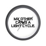 LIght Cycle Wall Clock