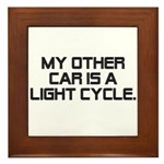 LIght Cycle Framed Tile
