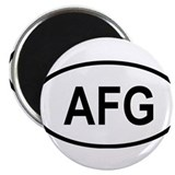 Cute Central asia 2.25&quot; Magnet (10 pack)