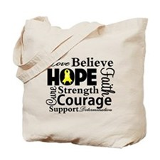 Sarcoma Hope Collage Tote Bag