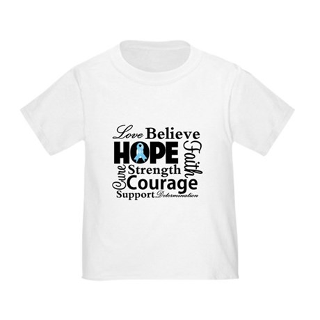 Prostate Cancer Hope Collage Toddler T-Shirt