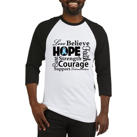 Prostate Cancer Hope Collage Baseball Jersey