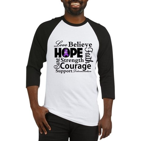 Pancreatic Cancer Hope Baseball Jersey