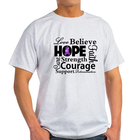 Pancreatic Cancer Hope Light T-Shirt