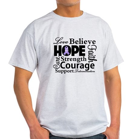 General Cancer Hope Light T-Shirt