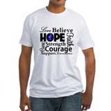 Colon Cancer Hope Collage Shirt