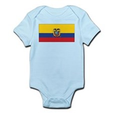 Ecuador Flag Infant Bodysuit
