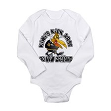 Kiwi's Long Sleeve Infant Bodysuit