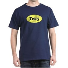 Tracy, California Black T-Shirt