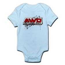 All Wheel Drift Infant Bodysuit