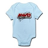 All Wheel Drift Onesie