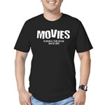 Movies Ruining the Book Since Men's Fitted T-Shirt