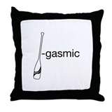 Oar-gasmic Throw Pillow