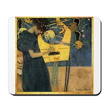 Gustav Klimt 'Music' Mousepad