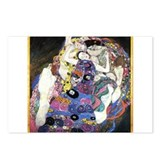 Gustav Klimt 'The Virgins' Postcards (Package of 8