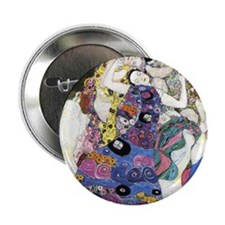 "Gustav Klimt 'The Virgins' 2.25"" Button"