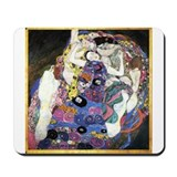 Gustav Klimt 'The Virgins' Mousepad