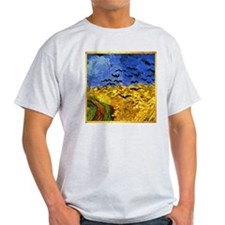 Van Gogh 'Crows in a Field' T-Shirt