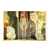 Gustav Klimt 'Water Collage' Postcards (Package of